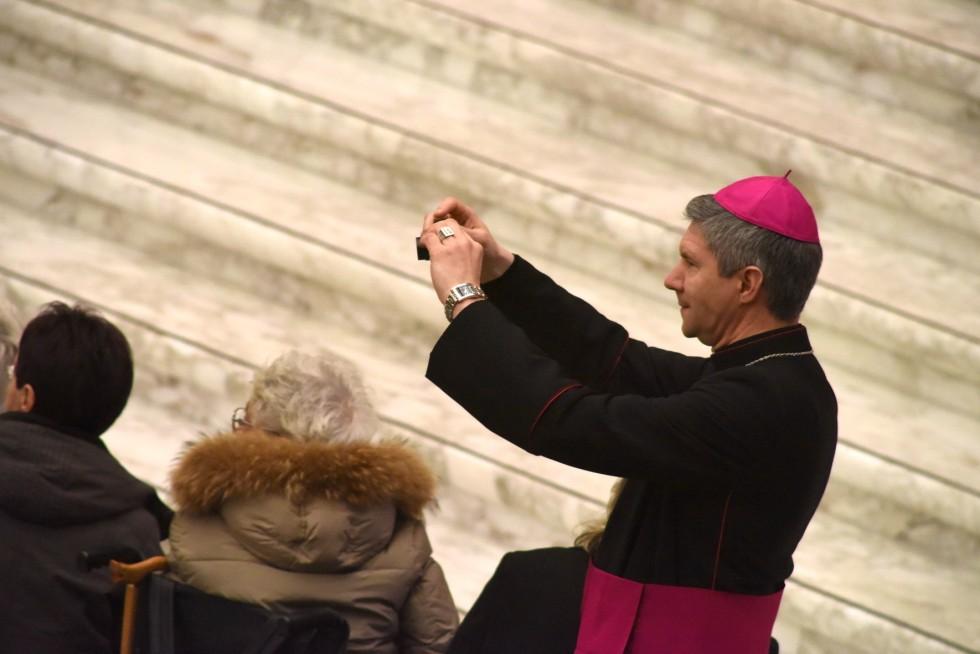 Vaticano, 20 gennaio 2016: Udienza generale di Papa Francesco in Aula Paolo VI