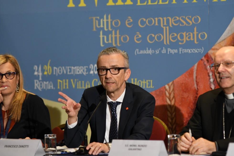 Roma, 24-26 novembre 2016: Federazione Italiana Settimanali Cattolici, XVIII assemblea elettiva nel 50° anniversario di fondazione - Francesco Zanotti