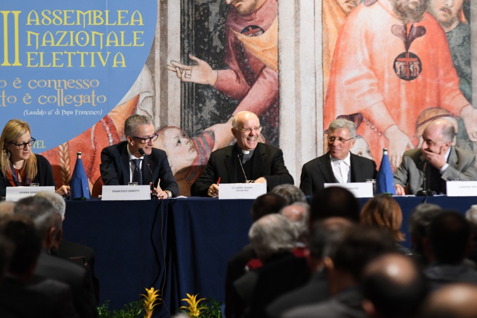 Roma, 24-26 novembre 2016: Federazione Italiana Settimanali Cattolici, XVIII assemblea elettiva nel 50° anniversario di fondazione