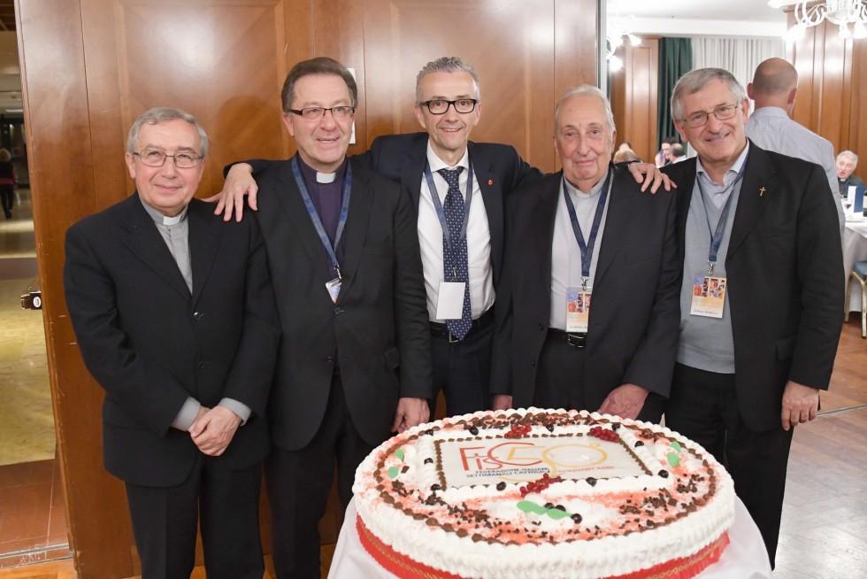 Roma, 24-26 novembre 2016: Federazione Italiana Settimanali Cattolici, XVIII assemblea elettiva nel 50° anniversario di fondazione - presidenti