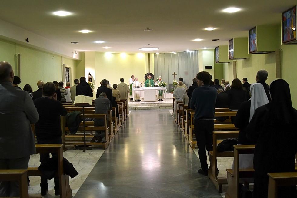 Roma, 24-26 novembre 2016: Federazione Italiana Settimanali Cattolici, XVIII assemblea elettiva nel 50° anniversario di fondazione - messa