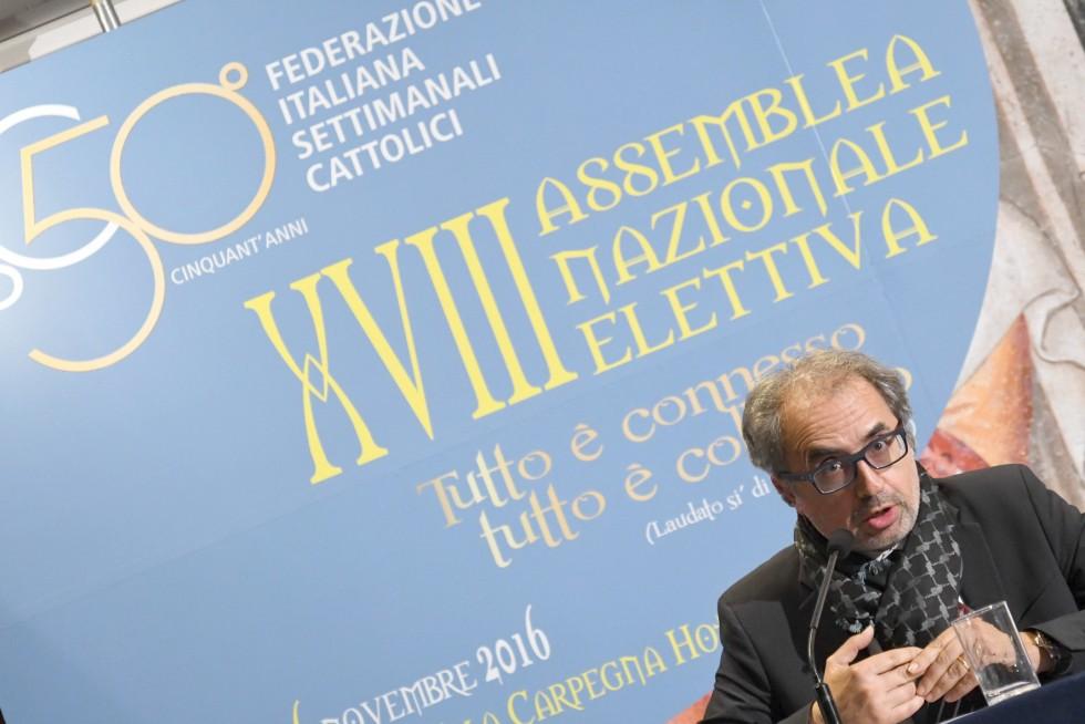 Roma, 24-26 novembre 2016: Federazione Italiana Settimanali Cattolici, XVIII assemblea elettiva nel 50° anniversario di fondazione - Carlo Cammoranesi