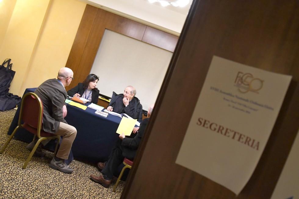 Roma, 24-26 novembre 2016: Federazione Italiana Settimanali Cattolici, XVIII assemblea elettiva nel 50° anniversario di fondazione - segreteria