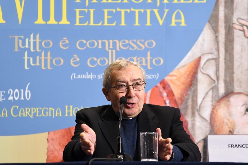 Roma, 24-26 novembre 2016: Federazione Italiana Settimanali Cattolici, XVIII assemblea elettiva nel 50° anniversario di fondazione - don Vincenzo Rini
