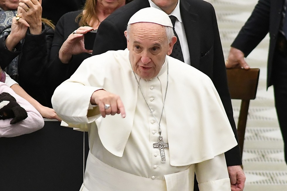 Aula Paolo VI, 7 dicembre 2016: Udienza generale Papa Francesco