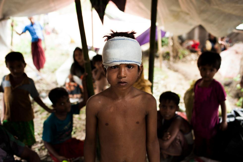 UNICEF-Bangladesh, 1 settembre 2017: profughi Rohingya