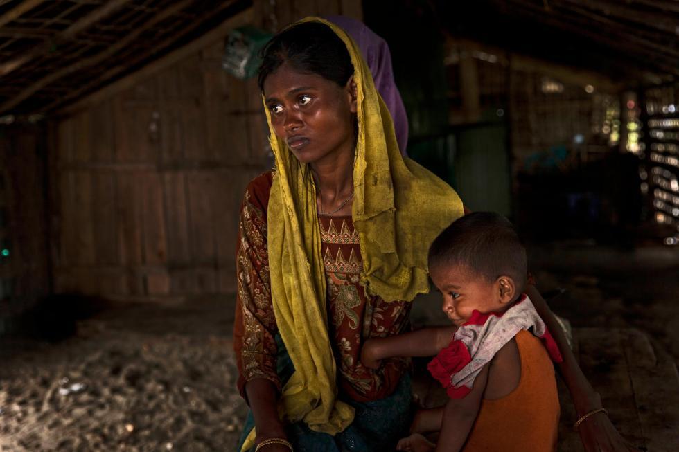 UNICEF-Bangladesh, 3 settembre 2017: profughi Rohingya