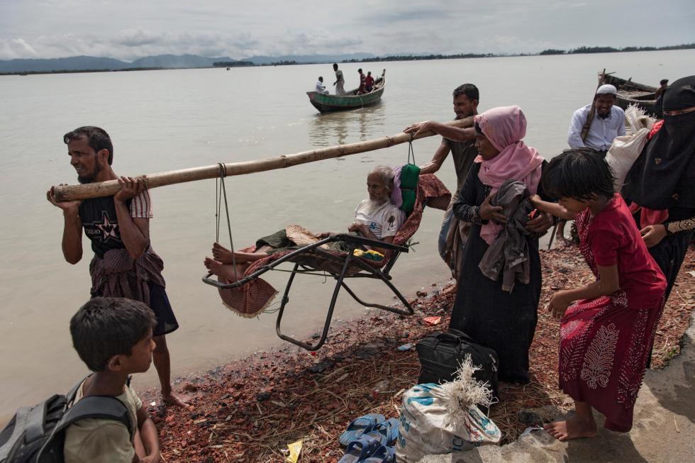 UNICEF-Bangladesh, 4 settembre 2017: profughi Rohingya