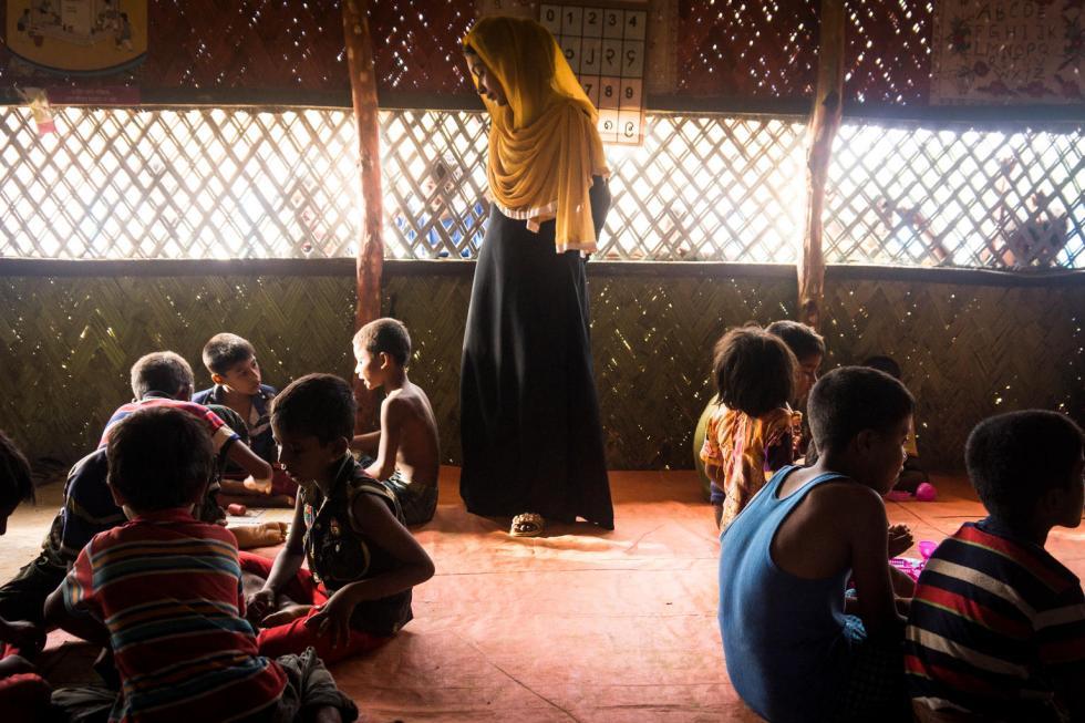UNICEF-Bangladesh, 6 settembre 2017: profughi Rohingya