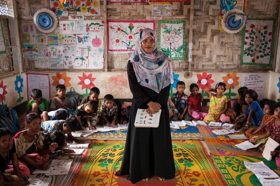 UNICEF-Bangladesh, 7settembre 2017: profughi Rohingya