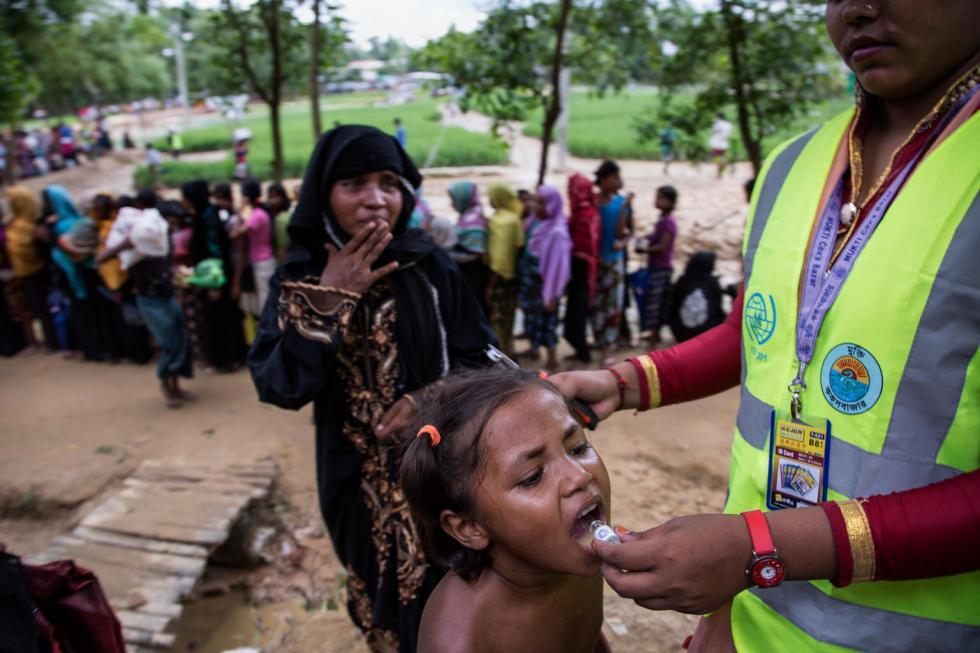UNICEF-Bangladesh, 19 settembre 2017: profughi Rohingya