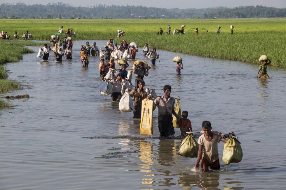 UNICEF-Bangladesh, 5 settembre 2017: profughi Rohingya